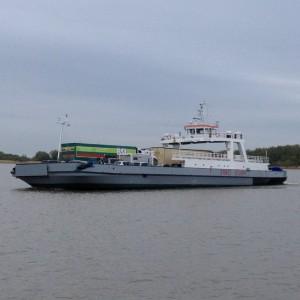 Elbafähre Glückstadt-Wischhafen, 3,5 km
