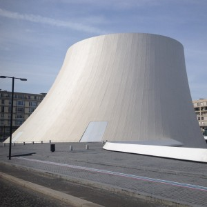 Oscar Niemeyers kulturhus Vulkanen